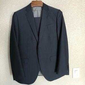 Men's Suit jacket and pant set navy blue